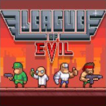 Das Cover von League Of Evil für die Switch
