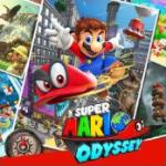 Das Cover von Super Mario Odyssey für die Switch